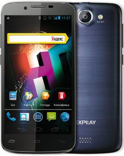 Сбалансированный смартфон Explay HD с двумя sim-картами