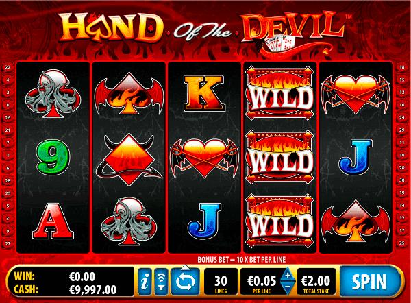 Игровой автомат Hand of the Devil - обыграй дьявола в казино Вулкан