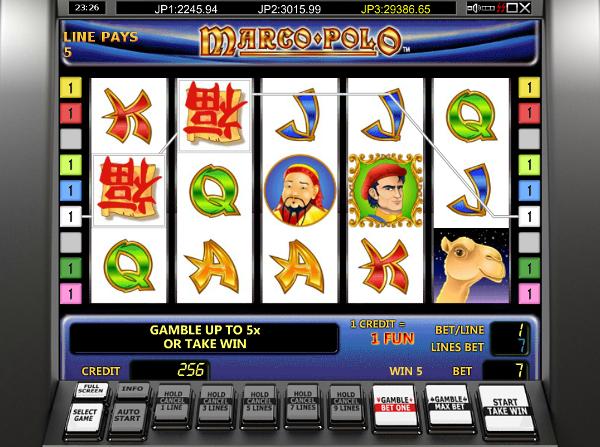 Игровой автомат Marco Polo - путешествуй и зарабатывай по крупному