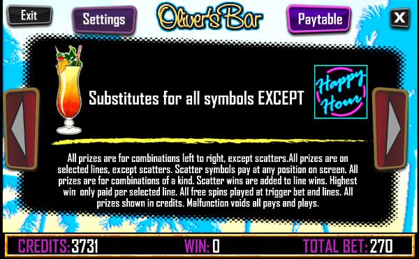 Игровой автомат Oliver's Bar - играть в онлайн казино Вулкан на рубли