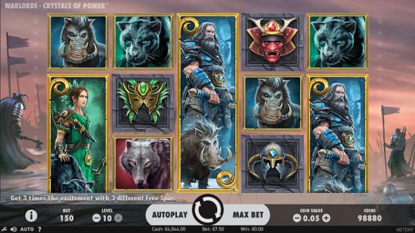 Игровой автомат Warlords: Crystals of Power - в игровой клуб Вулкан играй на деньги
