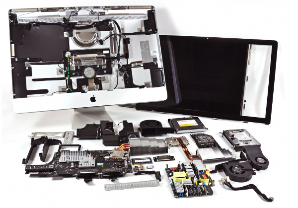 Сложности ремонта моноблоков Apple